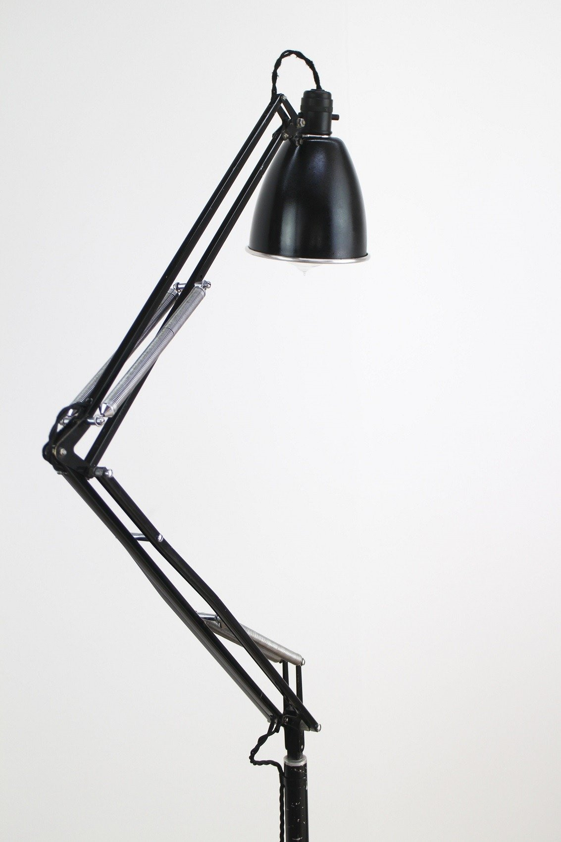 double and trolley by herbert c anglepoise ltd detail terry deco art antiques original sons lamp