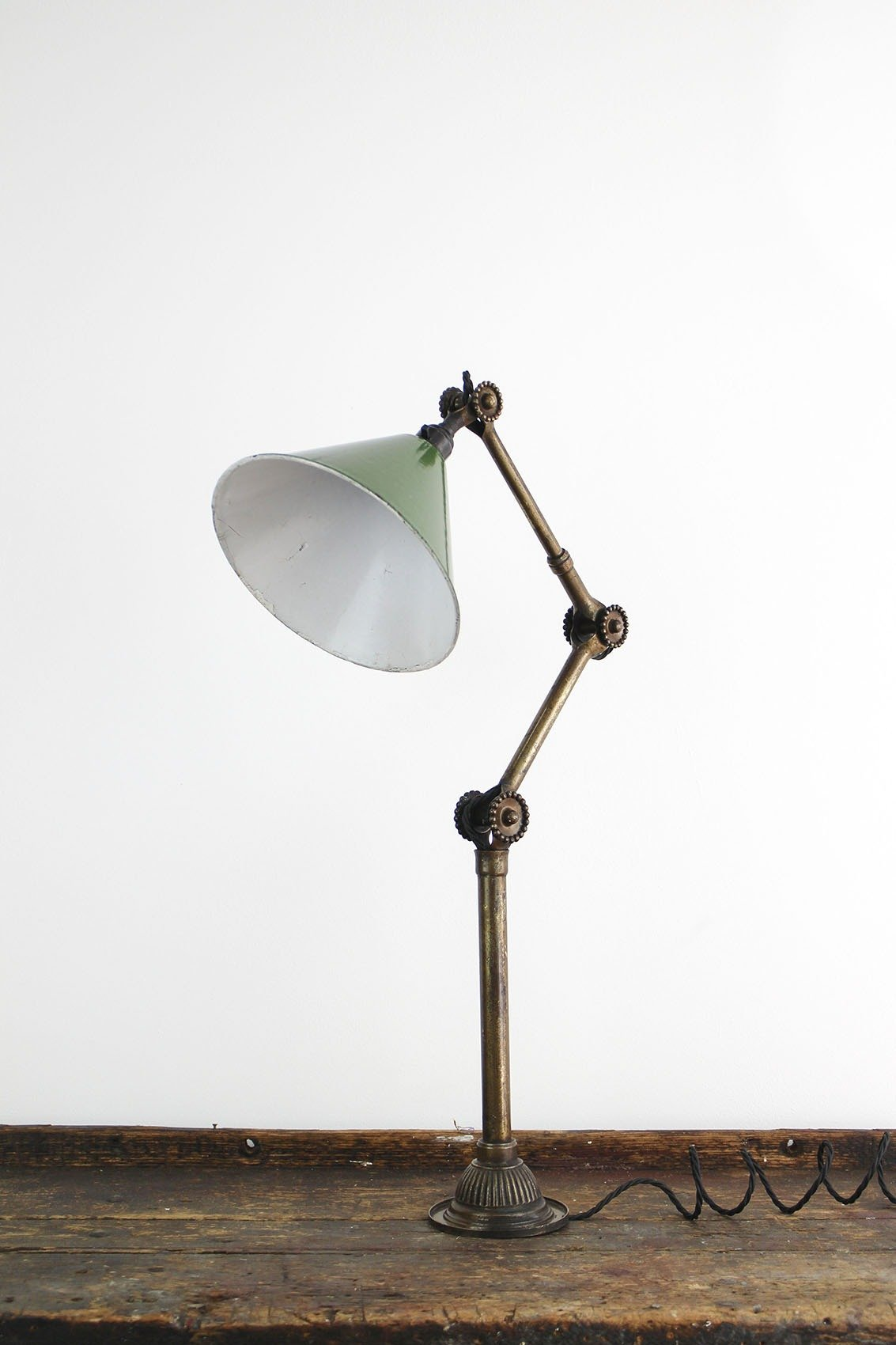 Dugdills Brass Daisy Joint Desk Lamp Cooling Amp Cooling