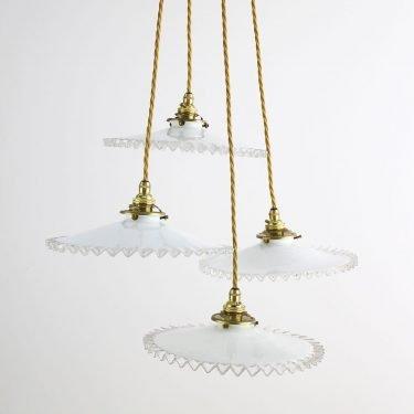 opaline pendant lighting