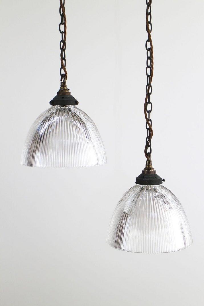 Holophane pendant lighting
