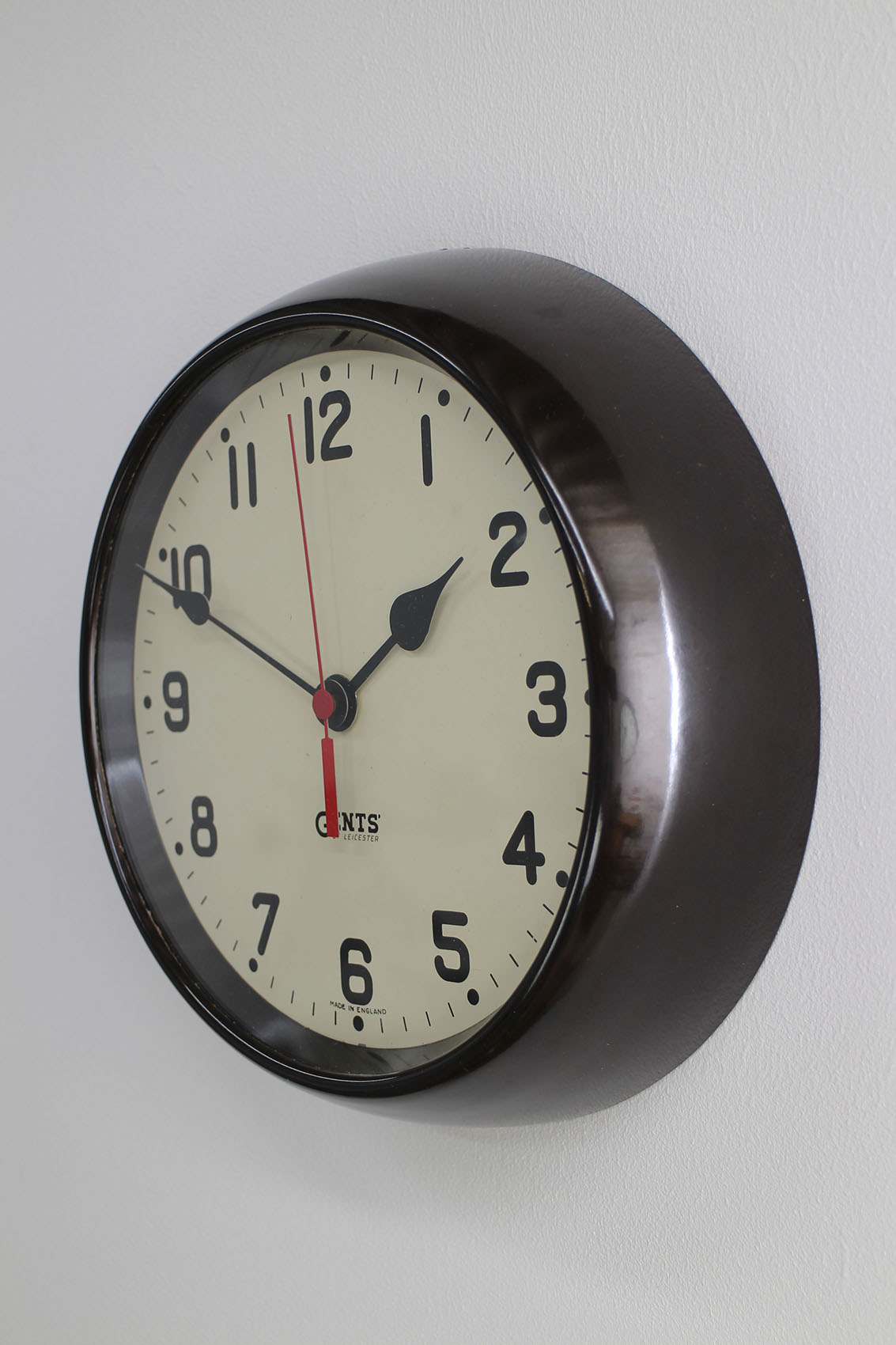 Vintage Gents Of Leicester Wall Clock Cooling Amp Cooling