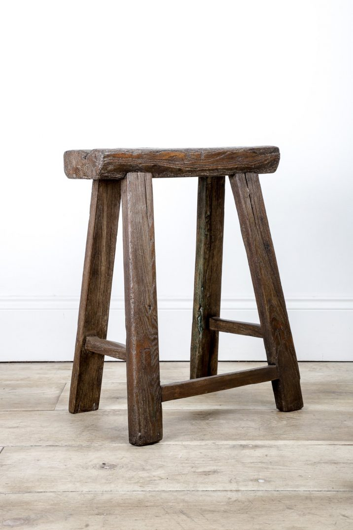 Primitive Farmhouse Stool