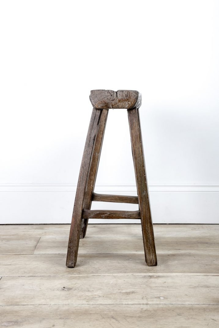 Primitive Farmhouse Stool - Cooling & Cooling
