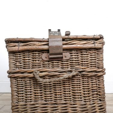 Large Antique Wicker Basket