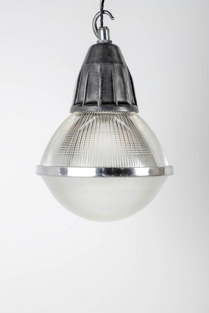 Large Industrial Holophane Pendant Lights - Cooling & Cooling