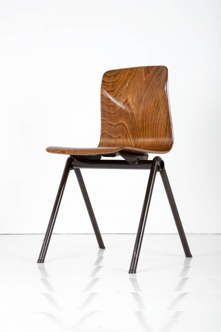 VINTAGE STACKING CHAIRS BY 'THUR-OP-SEAT' - COOLING & COOLING
