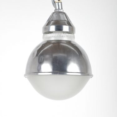 Holophane Polished Dome Pendant Light - Cooling & Cooling