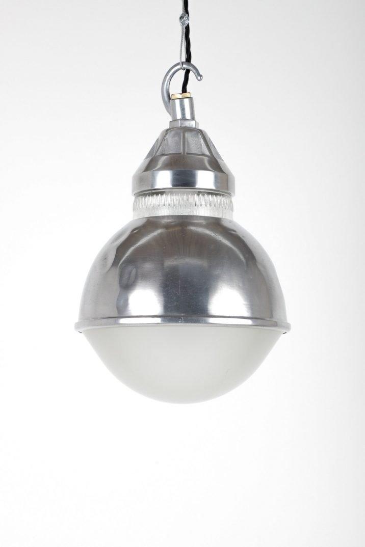 Holophane Polished Dome Pendant Light