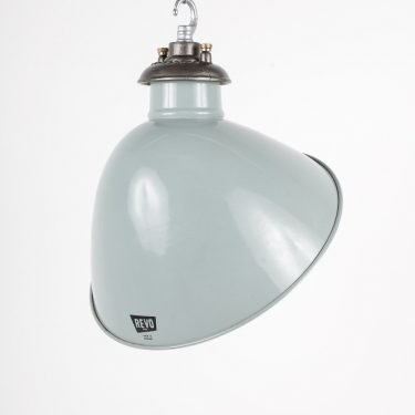 Grey Industrial Pendant Lights By Revo - Cooling & Cooling
