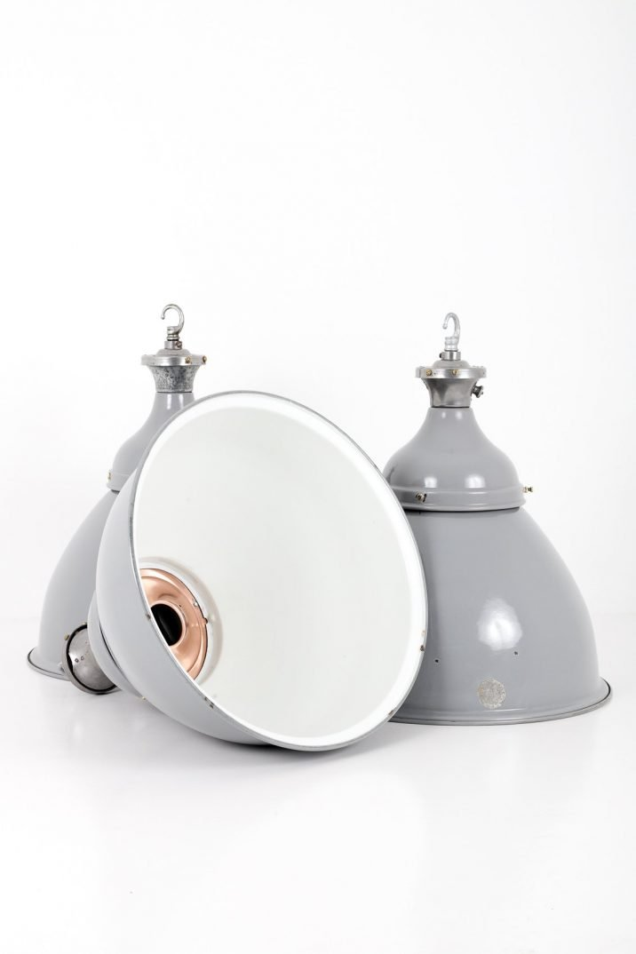 XL Industrial Pendant Lights By Benjamin - Cooling & Cooling