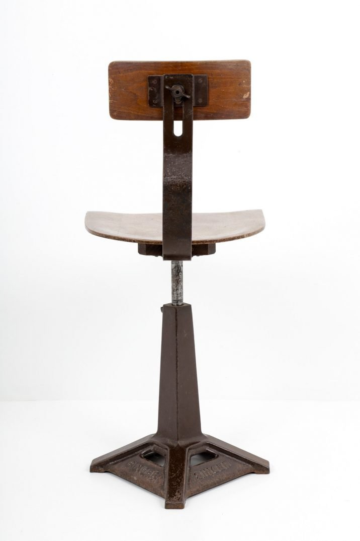 SINGER FACTORY CHAIR 1940 - COOLING & COOLING