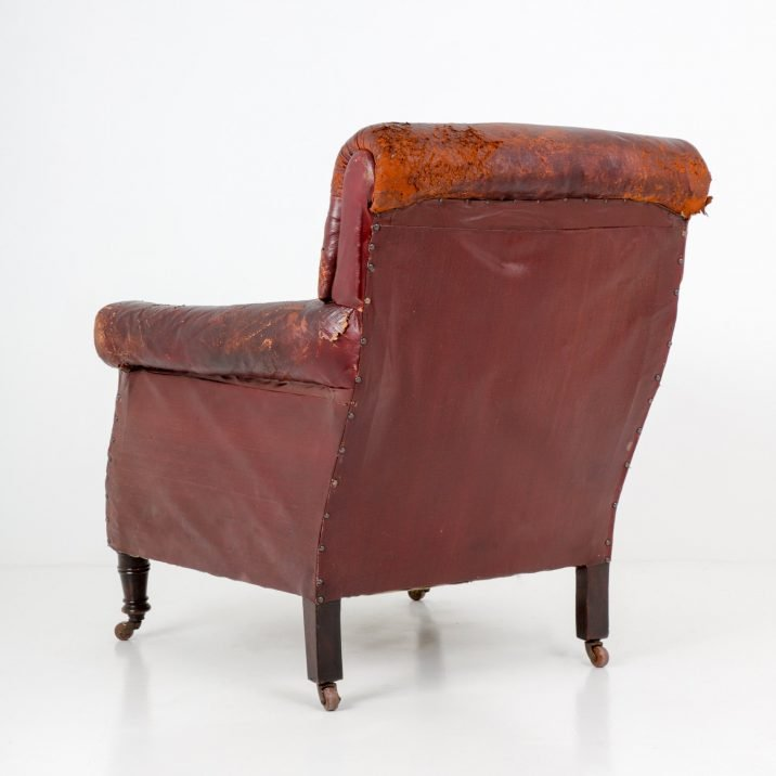 EDWARDIAN GENTLEMAN'S ARMCHAIR - COOLING & COOLING