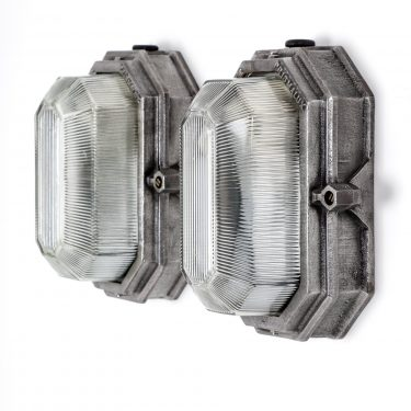 Industrial Prismalux Wall Lights By Wardle - Cooling & Cooling