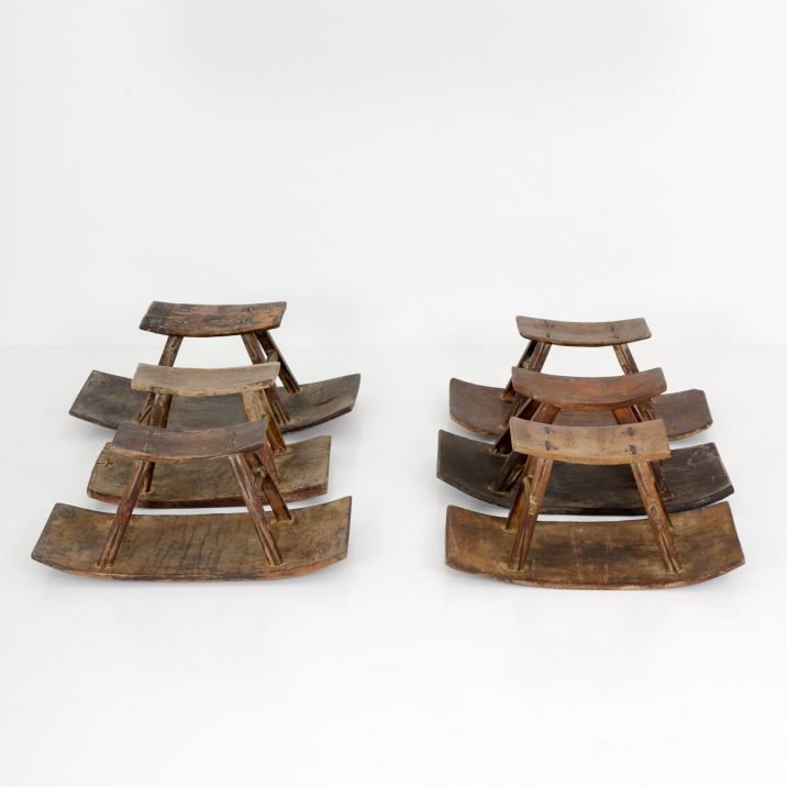 Vintage See-saw Stools - Cooling & Cooling