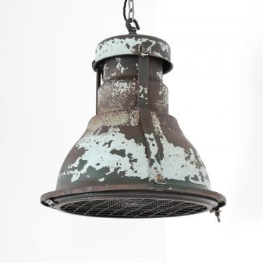 Large Industrial Holophane Pendant Light - Cooling & Cooling
