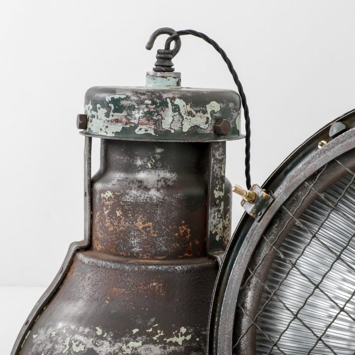 Large Industrial Holophane Pendant Light - Cooling & Cooling