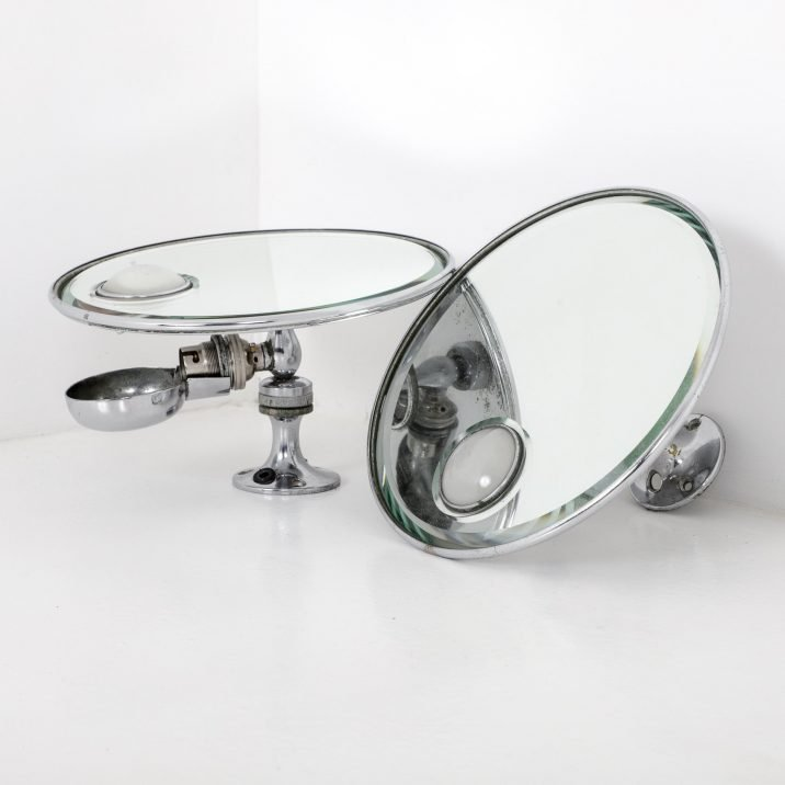 Illuminated Vanity Wall Mirror By Harcourts Of London - Cooling & Cooling