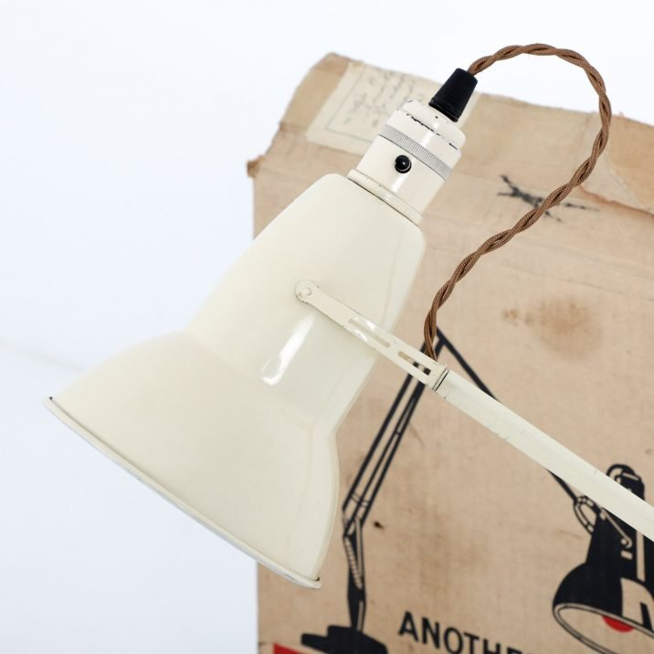 ORIGINAL 1227 HERBERT TERRY ANGLEPOISE DESK LAMP- COOLING & COOLING