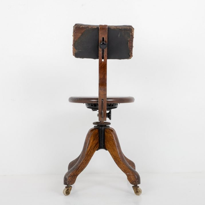 ANTIQUE AMERICAN DESK CHAIR BY COOK - COOLING & COOLING
