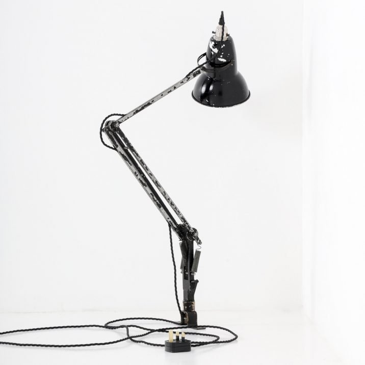 RARE WW2 AIR MINISTRY NAVIGATORS ANGLEPOISE LAMP BY HERBERT TERRY- COOLING & COOLING