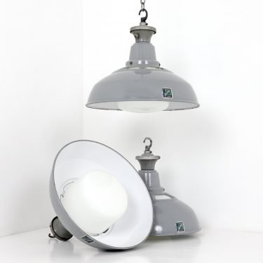 Industrial Diffused Pendant Lights By Benjamin- Cooling & Cooling