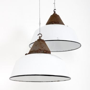 Hungarian Factory Pendant Lights - Cooling & Cooling