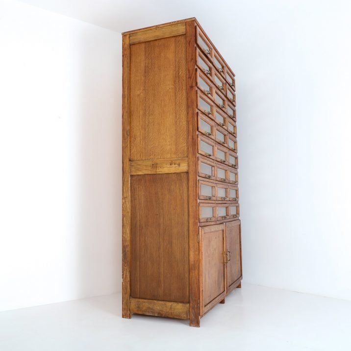 ANTIQUE HABERDASHERY CABINET - COOLING & COOLING