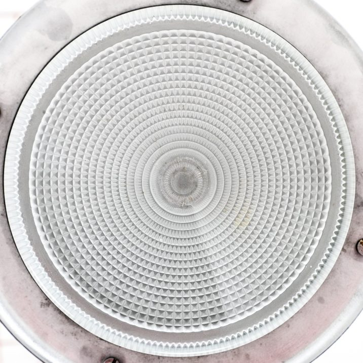 Industrial Mod Holophane Wall Light - Cooling & Cooling