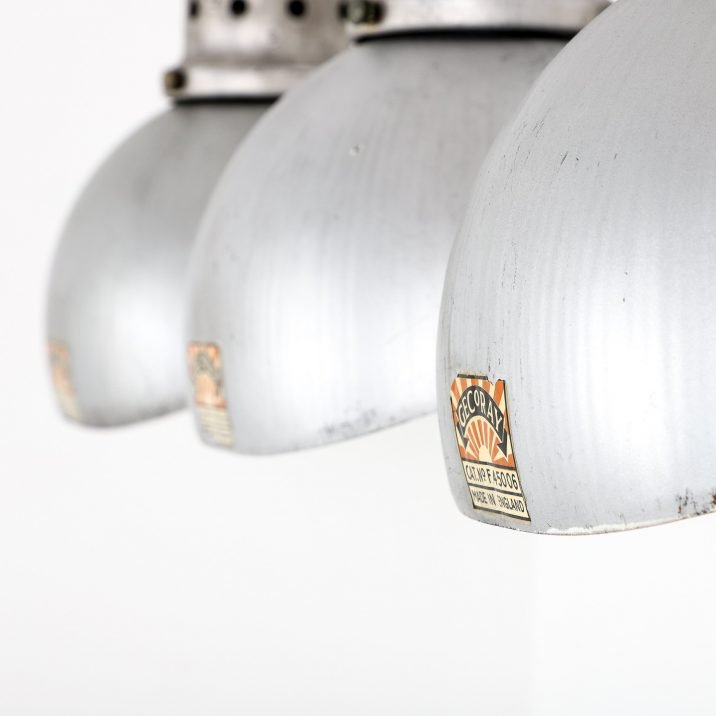 Antique Sliver Gecoray Mirrored Wall Lights By G.E.C. - Cooling & Cooling