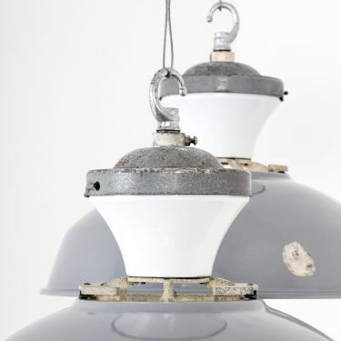 Rare Convector Mobilux Pendant Lights By Benjamin - Cooling & Cooling