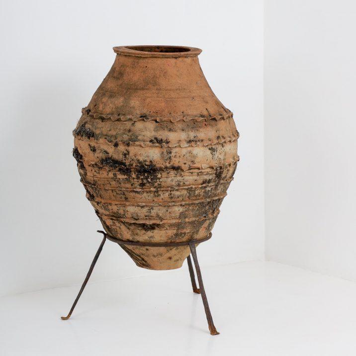Large Antique Greek Pithoi Pot - Cooling & Cooling