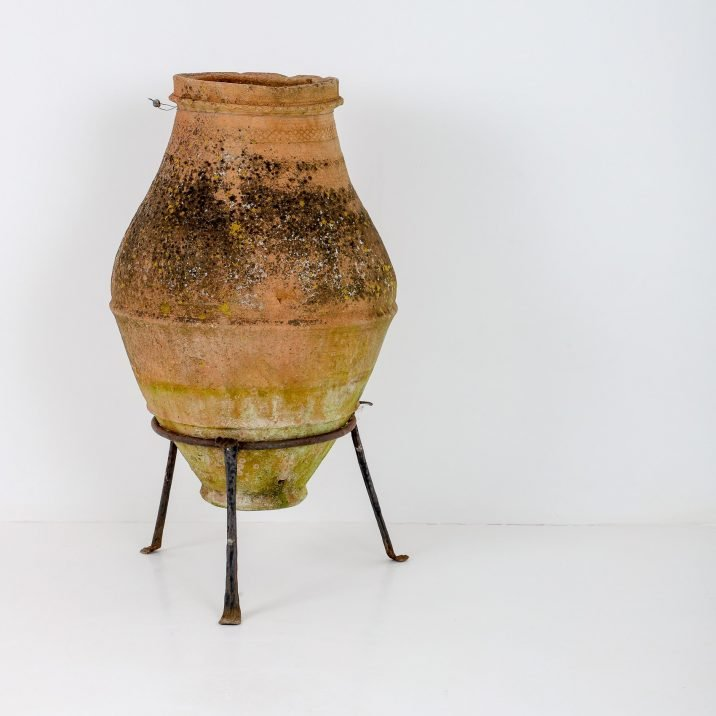 Medium Antique Greek Pithoi Pot - Cooling & Cooling