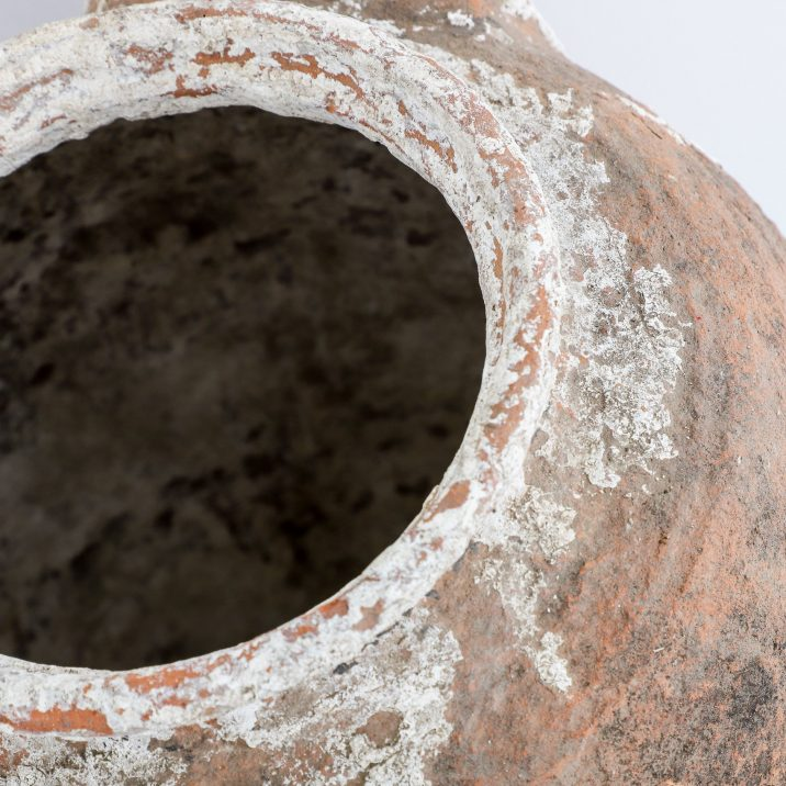Large Antique Terracotta Earthenware Pot - Cooling & Cooling