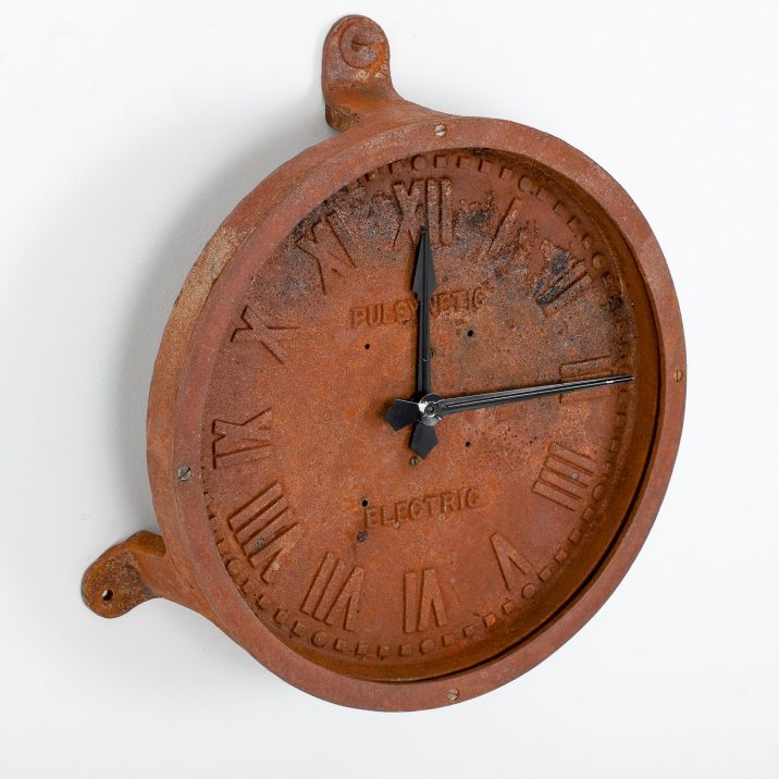 Rusty Gents Of Leicester Cast Iron Station Clock - Cooling & Cooling