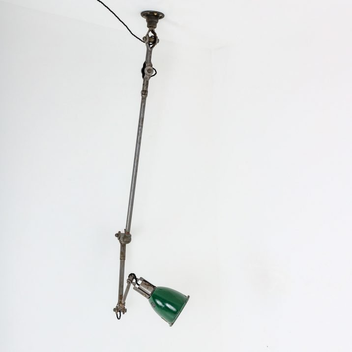 Large Industrial Dugdills Anglepoise Task Lamp - Cooling & Cooling