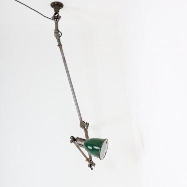 industrial Dugdills anglepoise task lamp