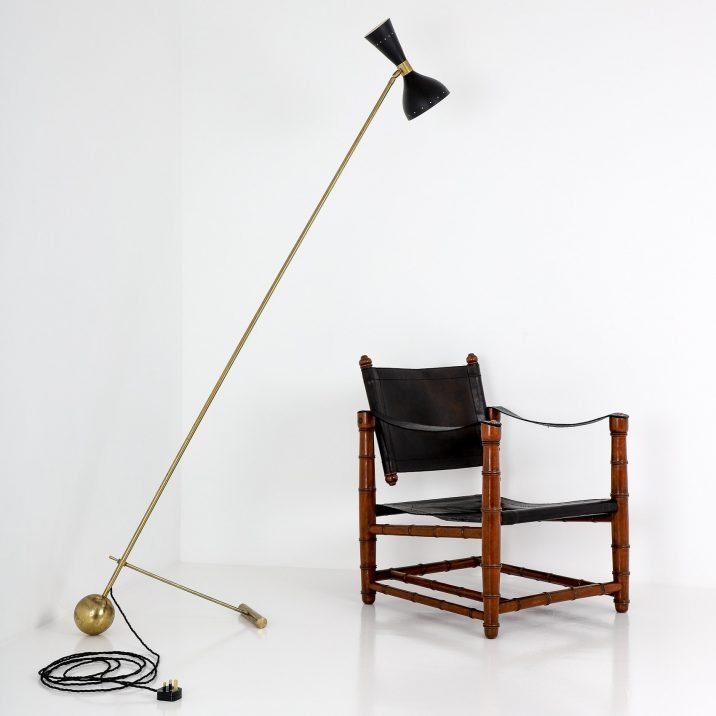 VINTAGE BAMBOO SAFARI CHAIR - COOLING & COOLING