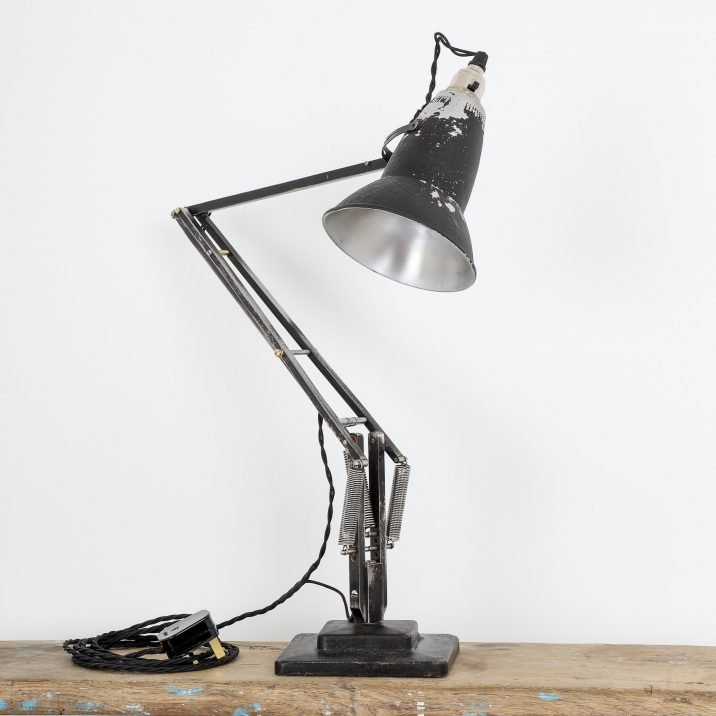 Black Type 1 Herbert Terry Anglepoise Desk Lamp - Cooling & Cooling