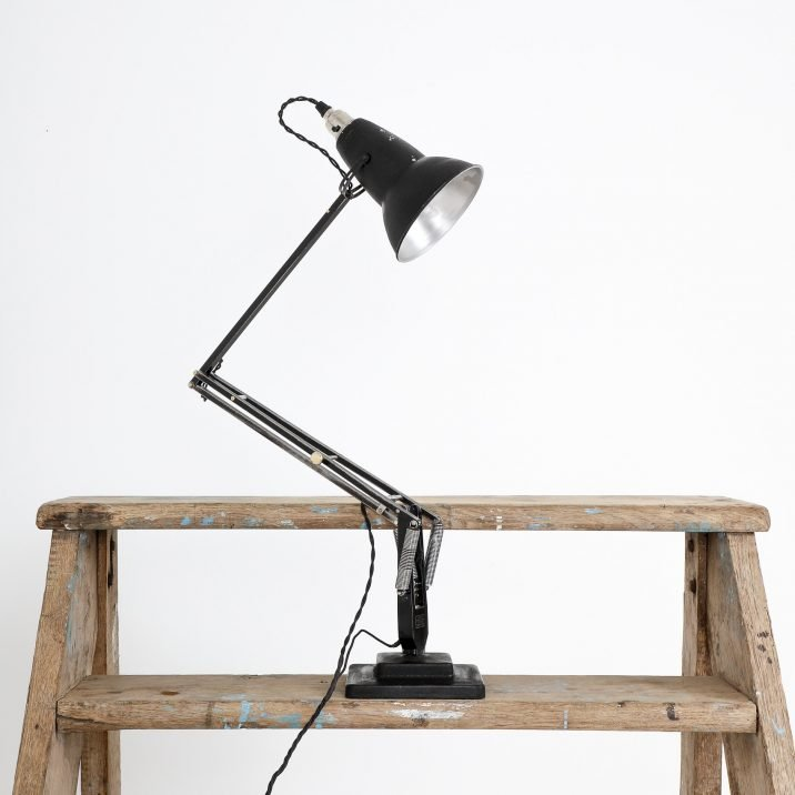 Early Black 1227 Herbert Terry Anglepoise Lamp - Cooling & Cooling