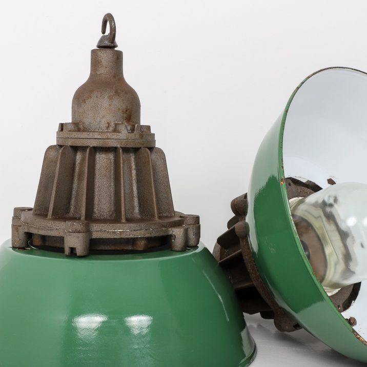 INDUSTRIAL PENDANT LIGHTS BY HEYES & CO LTD - COOLING & COOLING