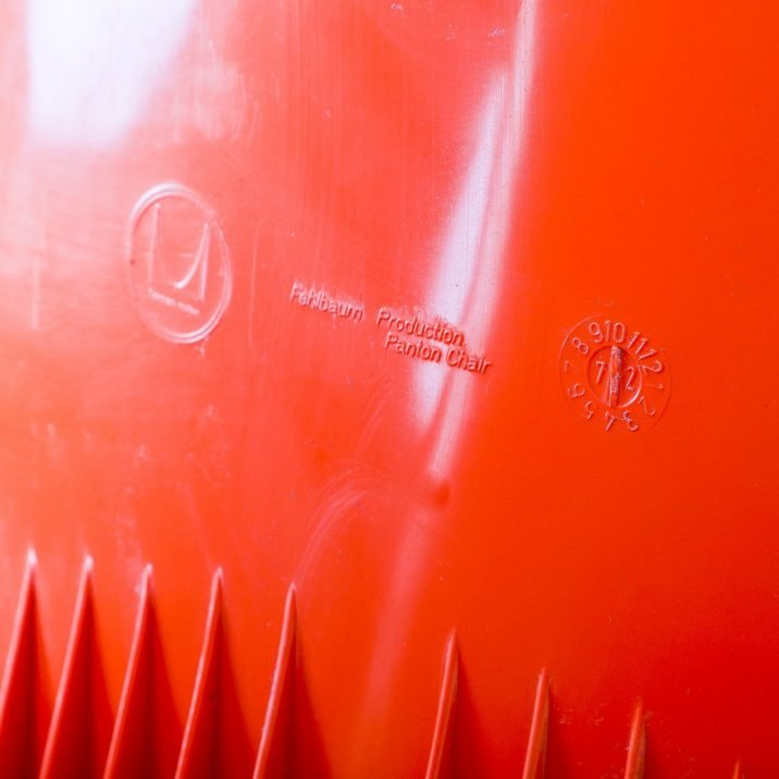 Orange Panton Chair By Verner Panton For Herman Miller - Cooling & Cooling
