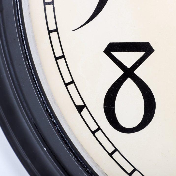 "LARGE 22"" INTERNATIONAL TIME RECORDINGS WALL CLOCK"