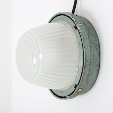Industrial Holophane Wall Lights - Cooling & Cooling