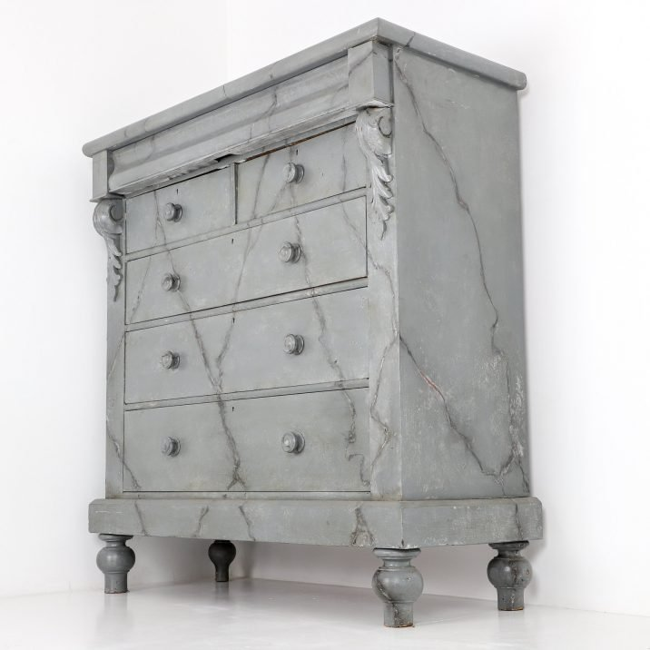 antique marble drawer