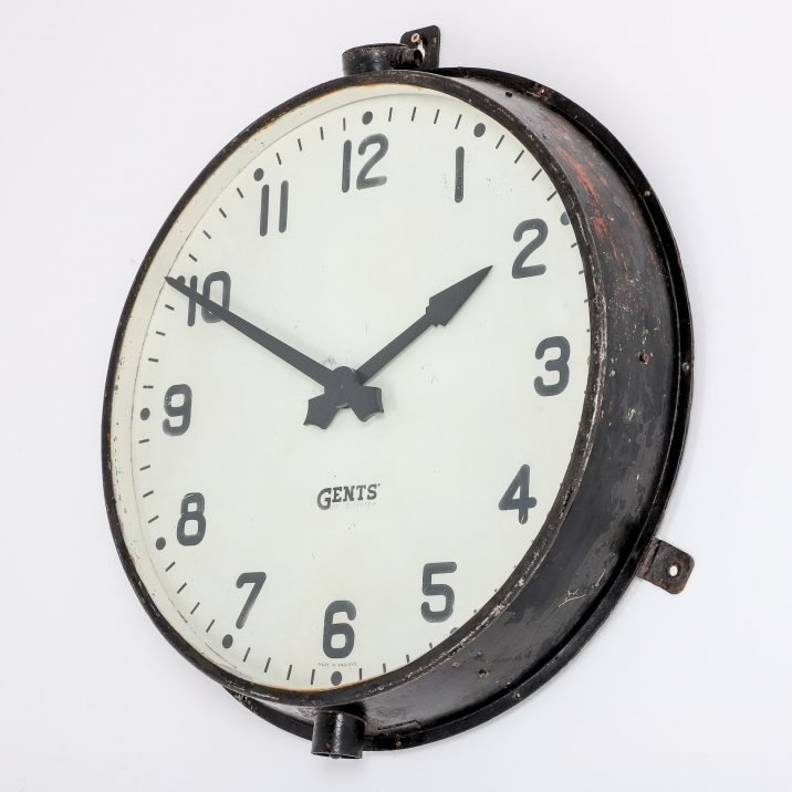"""Large 28"""" Original Gents Of Leicester Wall Clock - Cooling & Cooling"""