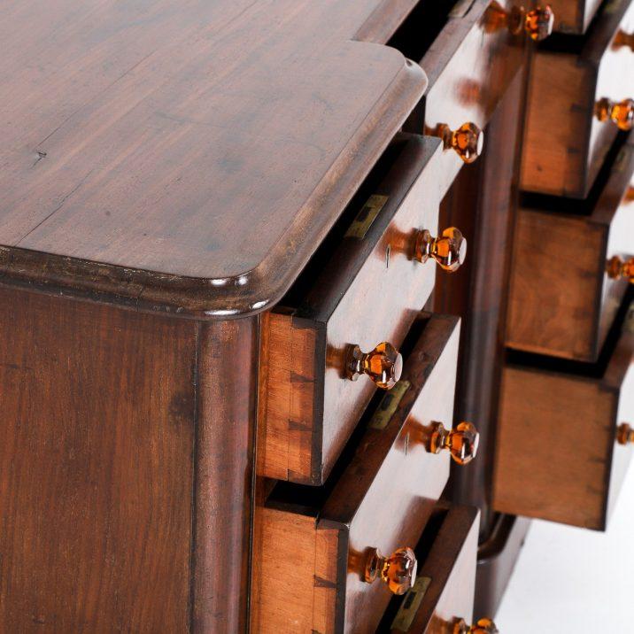 antique mahogany dresser base