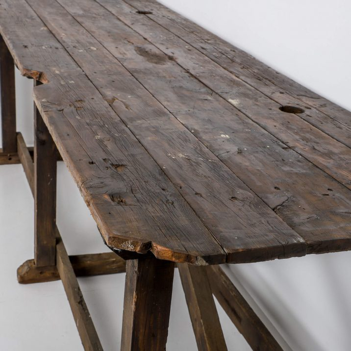 Large Antique Mill Table - Cooling & Cooling