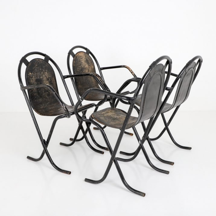 SET OF 4 STAK A BYE CHAIRS 5