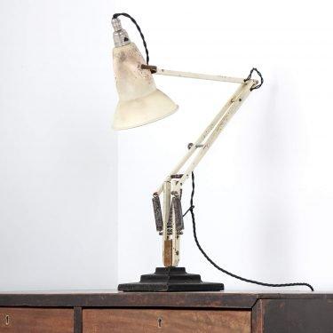 WHITE 3 STEP HERBERT TERRY ANGLEPOISE LAMP 11