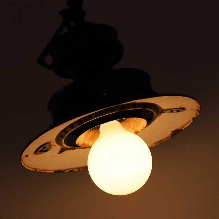 Antique Gas Lamp - Cooling & Cooling